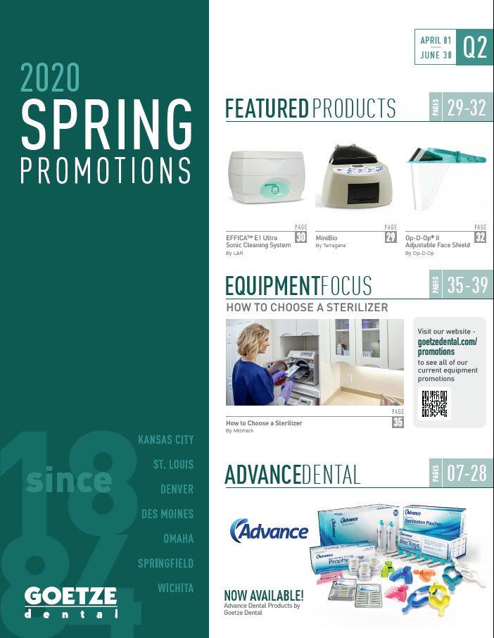 Spring Promotions Flyer