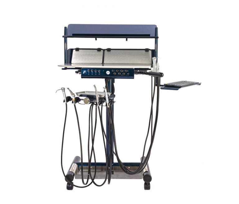 Forest Dental 7020 Pro Series Cart Blue